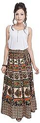 Soundarya Women's Cotton Wrap Skirt (6059, Long)
