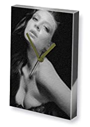 AMBER BENSON - Canvas Clock (LARGE A3 - Signed by the Artist) #js003