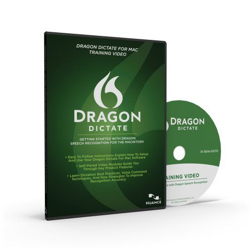 Nuance Communications, Inc. DRAGON DICTATE 2.0 TRAINING VIDEO MAC