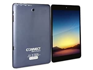 CONNECT A8 Turbo Tablette Tactile - Bleu - 7.85 pouces écran capacitif, Quad Core 1.5GHz, Android 4.2, 8Go de Stockage, OGS, XGA Screen, HDMI, Dual Caméra, Bluetooth, WIFI