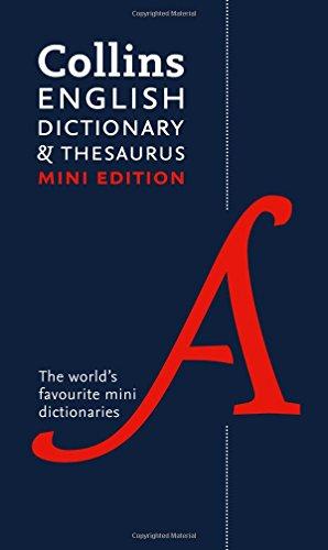 Collins Mini Dictionary & Thesaurus
