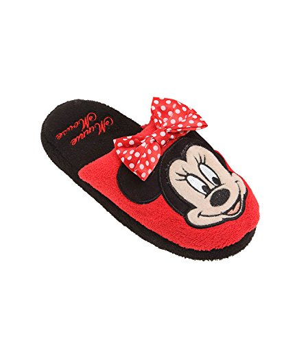 Disney Minnie Ragazze Pantofole - rosso - 32