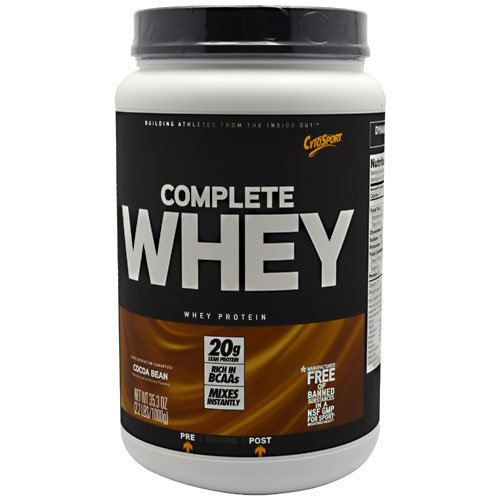 Cytosport Complete Whey Protein Cocoa Bean - 2.2 Lbs (1000 G) (4 Pack)