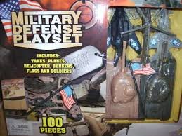Military Defense Playset