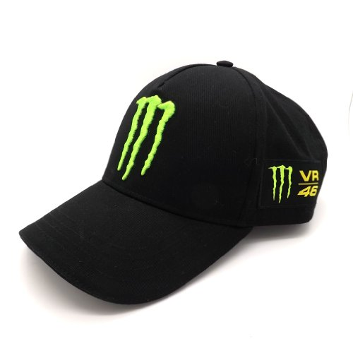 Valentino Rossi Monster Energy VR46 Moto GP Baseball Cap Official New (Monster Hats Energy compare prices)