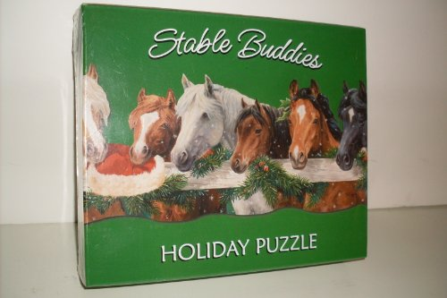 Stable Buddies 1000 Piece Holiday Puzzle - 1