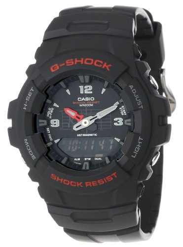 Casio Mens G100-1BV G-Shock Classic Ana-Digi Watch