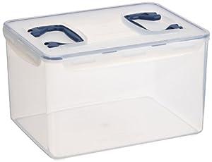Lock & Lock HPL890 Multifunktionsbox 16l mit 2 Griffen