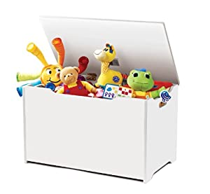 Tot Tutors Toy Box White by Tot Tutors