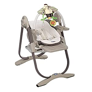 Chicco Polly Magic Newborn Highchair (Cocoa)