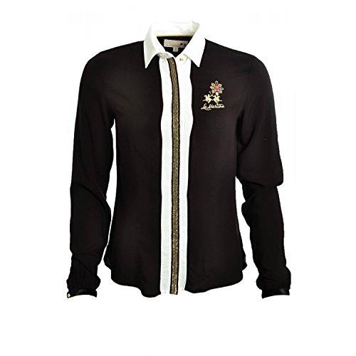 La-Martina-Shirt-La-Martina-Black-Jacket