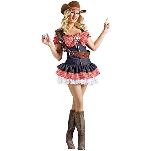 Shotgun Sheriff Cowgirl Adult Costume