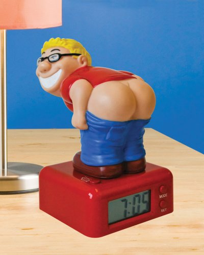 BigMouth Inc Farting Alarm Clock