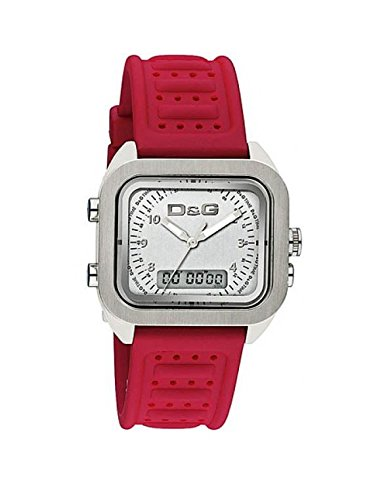 Dolce & Gabbana D&G Time Men's Watch VOCALS DW0299 DW0300, Color: Red, Size: One Size