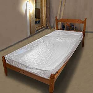 """2 x Packs of Caraselle Polythene Cover for Single Mattress 3'6"""""""
