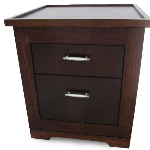 Compact Refrigerator End Table With Compact Refrigerator