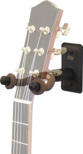 String Swing Metal Home and Studio Wide Guitar Hanger (Black)