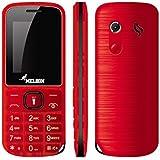 Melbon Dude 33-Red Dual Sim GSM With Multimedia Camera Mobile Phone