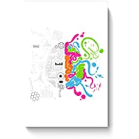 PosterGuy Posters (8X12 Inch) - Analytical And Creative Brain | Designed By: Codeburnerz Technologies