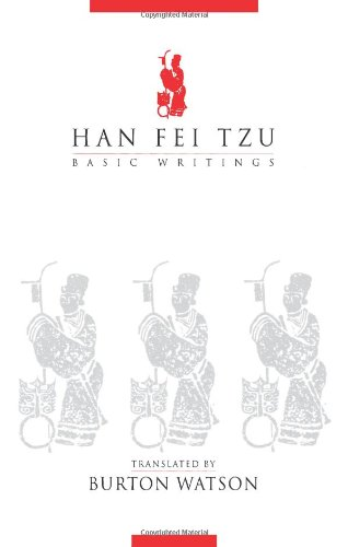 Han Fei Tzu: Basic Writings