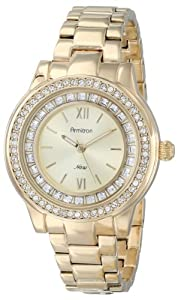 Armitron Women's 75/5115CHGP Watch with Swarovski Crystals