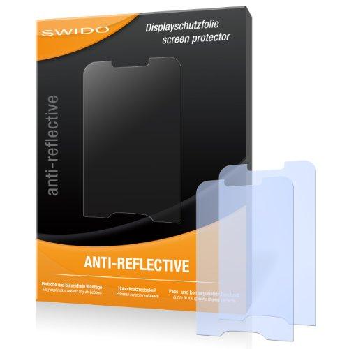 SWIDO X033069 antireflektierend hartbeschichtet Displayschutzfolie für Samsung E2600/E-2600 (2-er Pack)