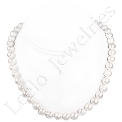 Fresh Water Pearl Necklace - approx. 18 inches (Light Cream)