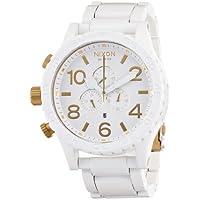[ニクソン]NIXON 腕時計 51-30 CHRONO ALL WHITE/GOLD NA0831035-00 メンズ 【正規輸入品】