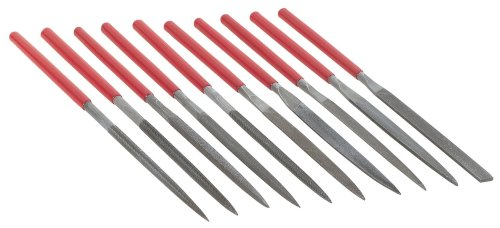 Steelex D2868 Needle Nose File Set 10-PieceB0000DD353
