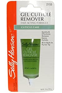 Sally Hansen Gel Cuticle Remover Fortified with Protein & Conditioner 1 oz (Bl