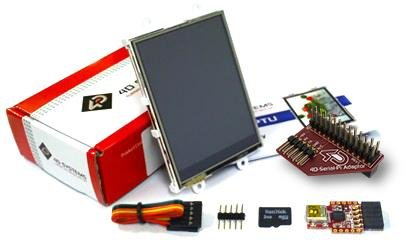 """2.8"""" Lcd Display Starter Pack With 2Gb Sd Card For Raspberry Pi"""