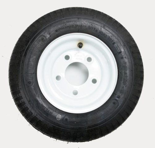 Kenda Trailer Tire/Wheel Assembly &#8211; 4-Ply Rated/Load