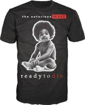 Notorious Big Ready To Die Black T-Shirt (Small)