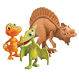 41TA034Gf3L. SL160  Learning Curve Dinosaur Train Collectible Dinosaur 3 Pack   My Friends Are Therapods: Old Spinosaurus, Buddy And Mrs. Pteranodon