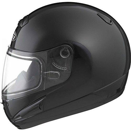 Gmax Gm38S Men'S Snow Racing Snowmobile Helmet - Black / Large