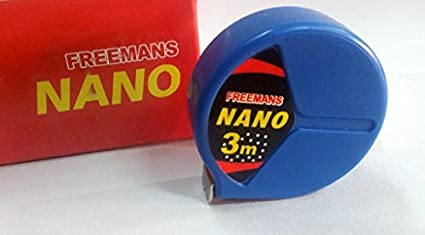 Nano Steel Rule Measuring Tape (3 Meters x 13mm, Pack of 10 pcs) )