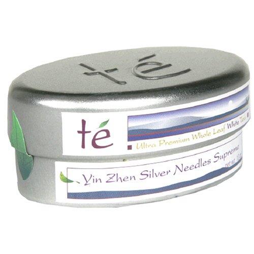 Buy Te-Tea Te Ultra Premium Loose Tea, Yin Zhen Silver Needle Supreme, Mini Tins (Pack of 4) (Te Teas, Health & Personal Care, Products, Food & Snacks, Beverages, Tea, White Teas)