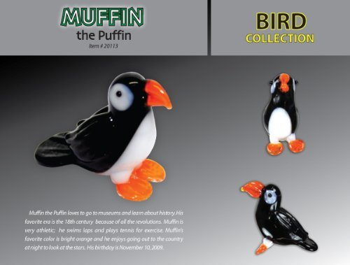 Looking Glass Muffin the Puffin - 1