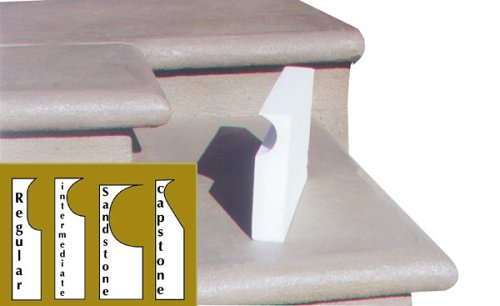 BonWay 32-191 40-Feet Capstone Concrete Step Form Liners