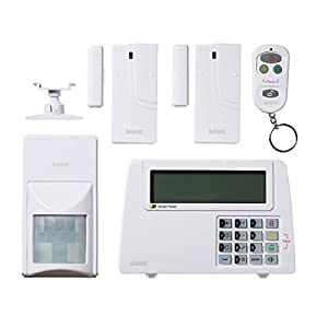 8 ZONE ALL IN ONE HOME SECURITY SYSTEM