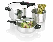 buy Fagor 2-By-1 Splendid 5-Piece Pressure Cooker Set