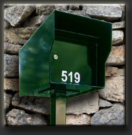 Fort Knox M1-LT G Mailbox44; Green