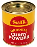 S&B Oriental Curry Powder (Pack of 3)