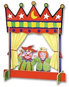 Alex Toys Crown Tabletop Puppet Theatre by Alex