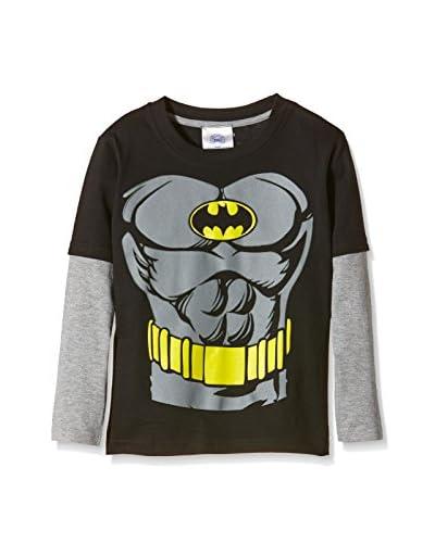 DC Comics Camiseta Manga Larga Batman Torso
