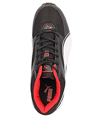 Puma 18937401 Mesh Sports Shoes, Men's Size 8 (Black)