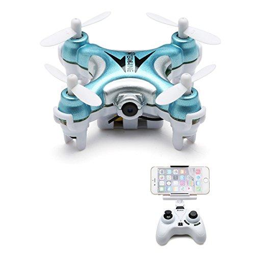 Eachine E10W Mini Wifi Quadcopter With HD Camera 2.4G 4CH 6 Axis LED RC Nano Quadcopter Drone FPV Mode 2