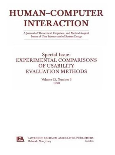 Experimental Comparisons of Usability Evaluation Methods: A Special Issue of Human-Computer Interaction