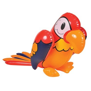 "40"" Red Inflatable Parrot"