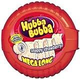 HUBBA BUBBA Bubble Tape Snappy Strawberry Bubble Gum 1.8 m